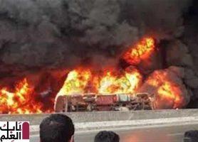 Photo of السيطرة على حريق شب فى سيارة على الطريق الدائرى بمدينه الخصوص