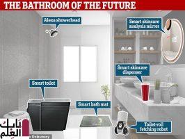 تعرف على شكل حمام المستقبل