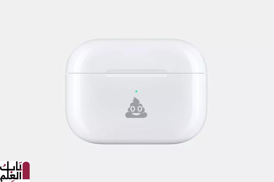 تتيح لك Apple الآن نقش رمز تعبيري على علبة AirPods 2020
