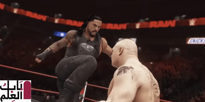 تحطمت WWE2K20 في منتصف  ليلة رأس السنة