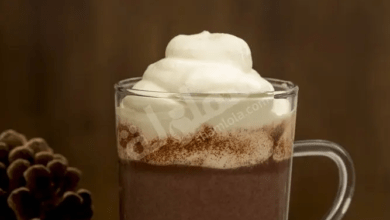 "Photo of طريقة عمل ""مشروب"" الكاكاو بالكريمة"