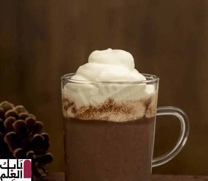 طريقة عمل مشروب الكاكاو بالكريمة 2021