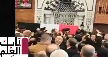 بث مباشر جنازة الرئيس الأسبق حسنى مبارك من مسجد المشير 2020