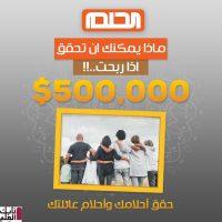 رقم الحلم 2020 لجميع الدول العربية