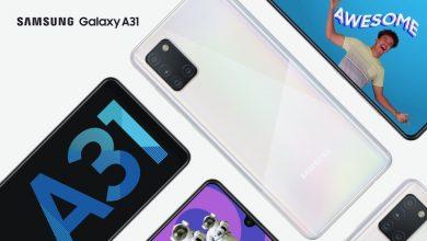 Photo of تم الإعلان عن Samsung Galaxy A31 بإعداد الكاميرا الرباعية وبطارية 5000 mAh