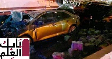 حبس السائق المتورط فى حادث الدائري الإقليمي 4 أيام وإخضاعه لتحليل مخدرات