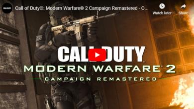 Photo of تم اعاده تصميم لعبه Call of Duty: Modern Warfare 2  اليوم