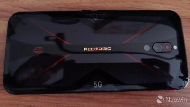 Photo of مراجعه شامله لجهاز Red Magic 5G unboxing