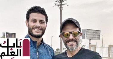 """محمد الشناوى يُهنئ يوسف الشريف بنجاح مسلسل """"النهاية"""" 2020"""