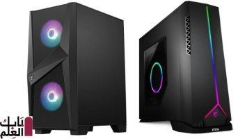 تعلن شركة MSI عن أجهزة كمبيوتر سطح مكتب جديدة للألعاب2020 مزودة بمعالجات Intel من الجيل العاشر