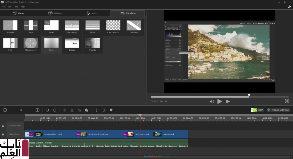 ACDSee Video Studio 3.0 editing software 1