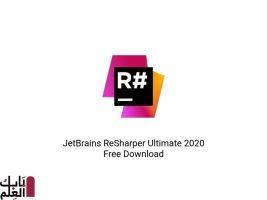 تحميل برنامج JetBrains ReSharper Ultimate 2020 Free Download
