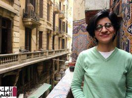 وفاة الناشطة المصرية