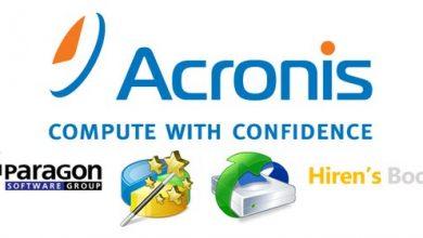 Photo of اسطوانة أكرونس الشاملة للصيانة Acronis 2k10 UltraPack 7.27