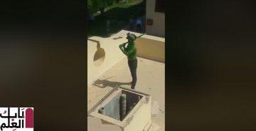 كيف اقتحم الرجل الأخضر