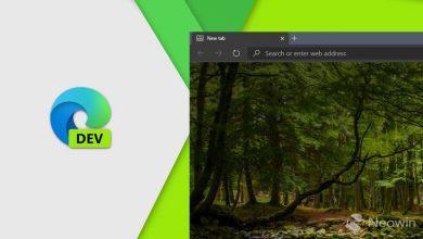Photo of تصدر Microsoft Edge Dev 85.0.564.8 مع مجموعة من الميزات الجديدة