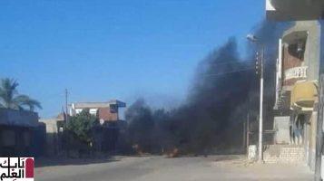 إحباط هجوم إرهابي بمنطقة بئر العبد