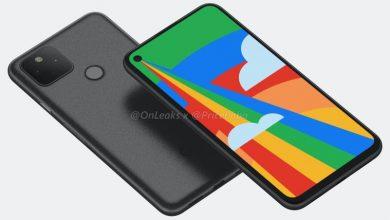 Photo of تشير مواصفات Google Pixel 5 المسربة إلى Snapdragon 765G و 8 جيجابايت من ذاكرة الوصول العشوائي وبطارية كبيرة