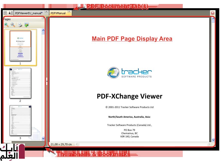 tracker pdf xchange viewer