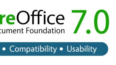 Photo of برنامج LibreOffice 7.0.1  اخر اصدار تحميل مجانى