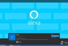 Photo of يضيف Alexa لنظام التشغيل Windows 10 دعم Drop In لمكالمات الفيديو والتصميم الجديد والمزيد