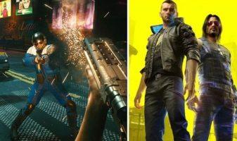 يتم استكشاف أسلحة Cyberpunk 2077