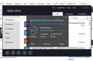 شرح شامل لبرنامج Xtreme Download Manager