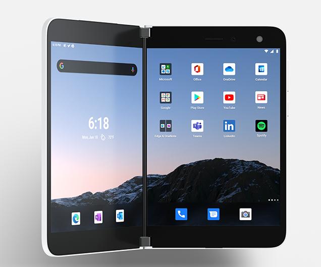 تنشر Microsoft موجزها السري عن Surface Duo