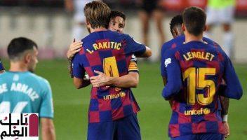 موعد مباراة برشلونة ضد ألافيس