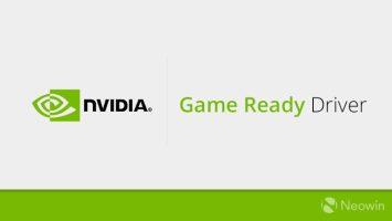 يتضمن إصدار برنامج تشغيل Nvidia GeForce
