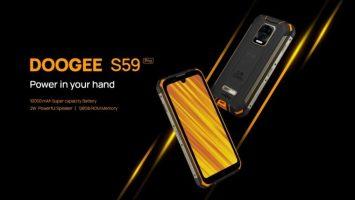 DOOGEE ستطلق S59 Pro رسميًا في 15 ديسمبر