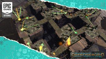 لعبة Defense Grid The Awakening متاحة مجانًا في متجر Epic Games Store 2021اليوم