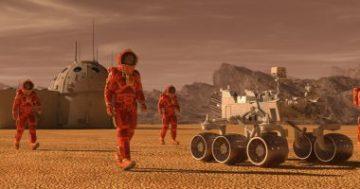 فريق من وكالة الفضاء الأوروبية