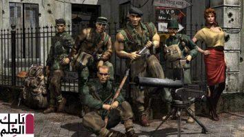 بشكلٍ رسميٍ هنالك لعبة Commandos