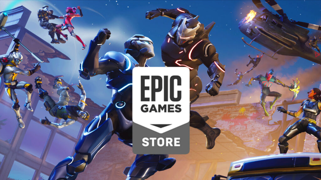 Epic Games توفير ألعاب مجانية