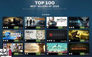أفضل 100 لعبة Steam