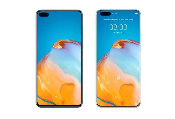 تكشف شاشة Huawei P40 الجديدة
