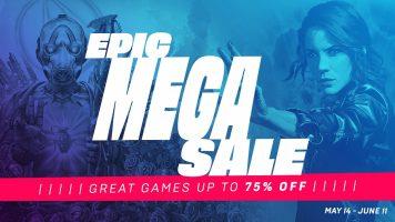 يبدأ متجر Epic Games Store Mega Sale