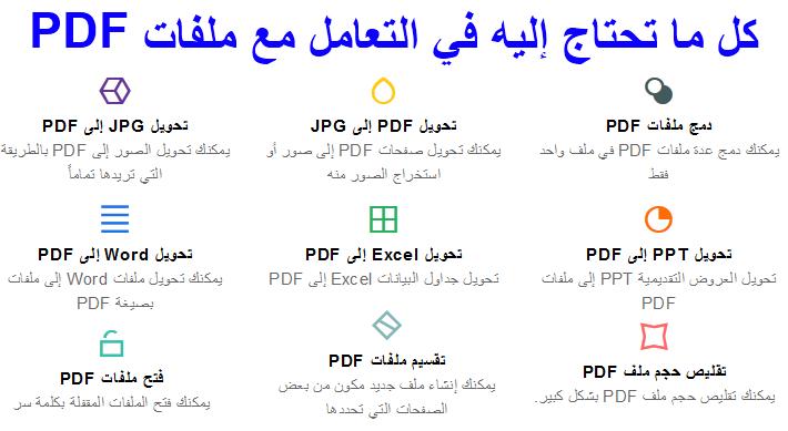 برنامج للتعامل مع ملفات البى دى إف