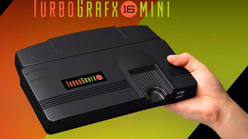 سيتم إطلاق TurboGrafx-16 Mini