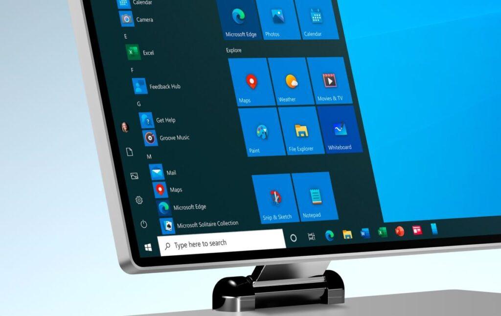 تصدر Microsoft Windows 10