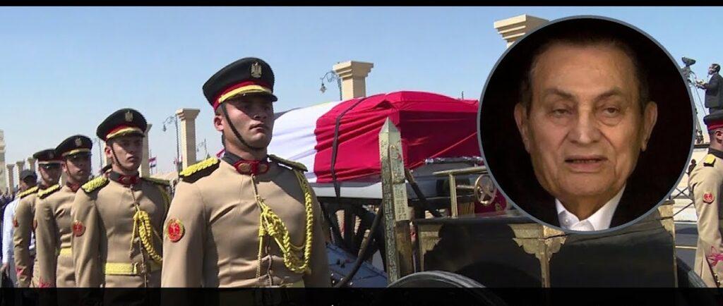 بث مباشر جنازة الرئيس الأسبق