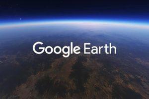 يتوفر Google Earth