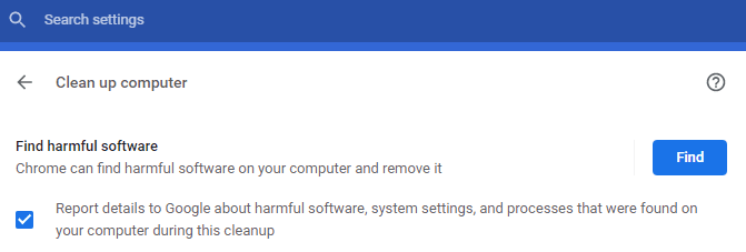 Find Harmful Software