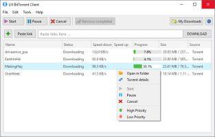 تحميل برنامج LIII BitTorrent Client