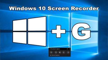 كيفيه تسجيل شاشتك على نظام التشغيل Windows 10