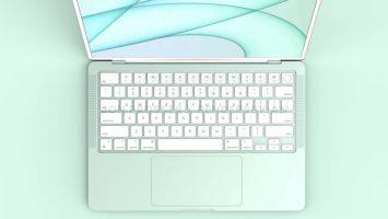 إعادة تصميم MacBook Air