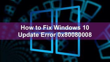 حل مشكله رساله ابديت windows 10 update