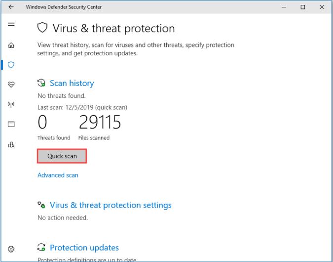 حل مشكله رساله Windows Backup Fails