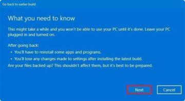 كيف يمكنك العودة إلى Windows 10
